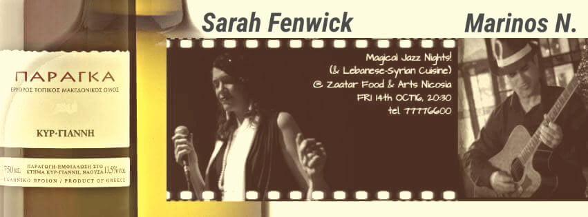 sarah fenwick jazz