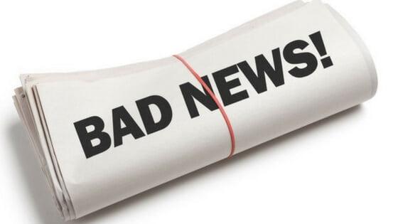 markets bad news